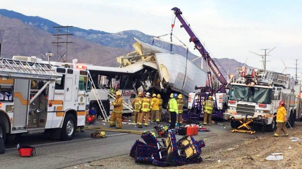 Multiple deaths and injuries were reported in the crash.