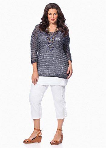 #Virtu Mystic Pullover #plussize #curvy