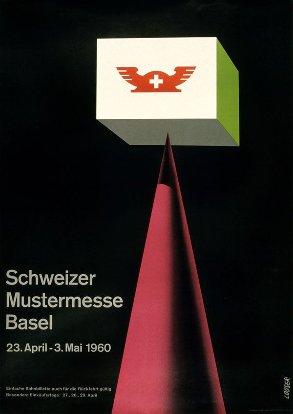 Hans Looser, Schweizer Mustermesse Basel, 1960