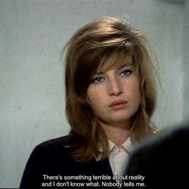 Monica Vitti in Red Desert, 1964 by Michelangelo Antonioni