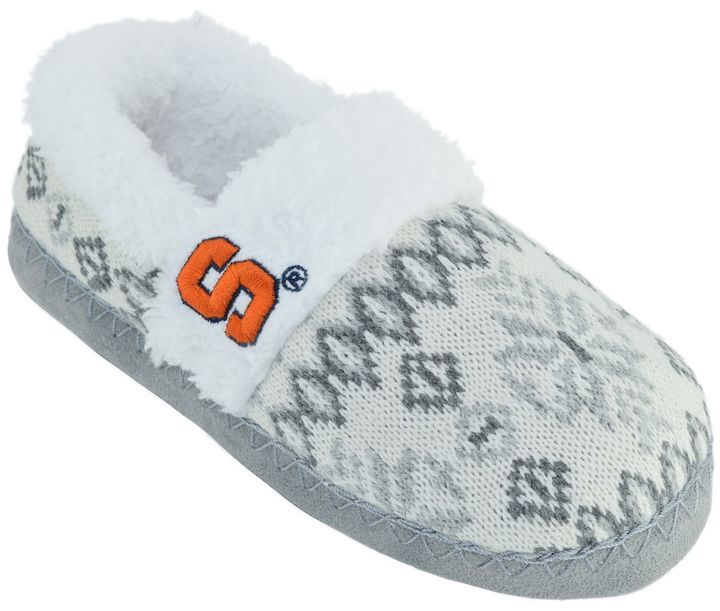 NCAA Women's Syracuse Orange Snowflake Slippers