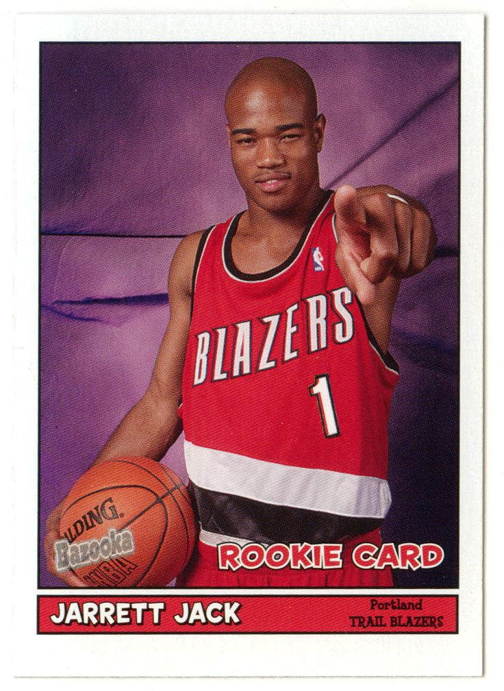 Jarrett Jack RC # 168 - 2005-06 Topps Baz Basketball NBA Rookie