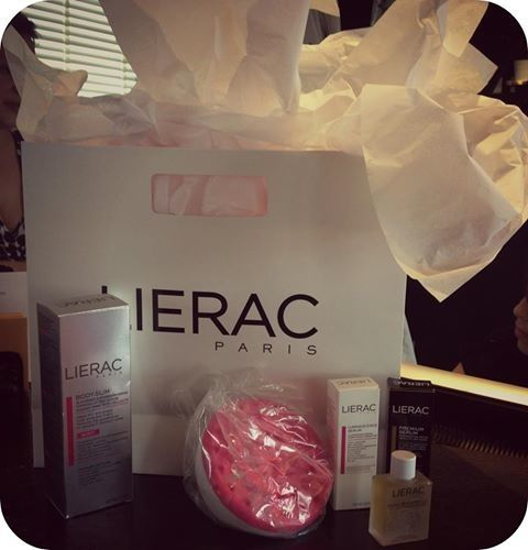 We had plenty goodie bags up for grabs at our last event with LIERAC Paris.