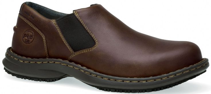 086509214 Timberland PRO Men's Gladstone Safety Shoes - Brown