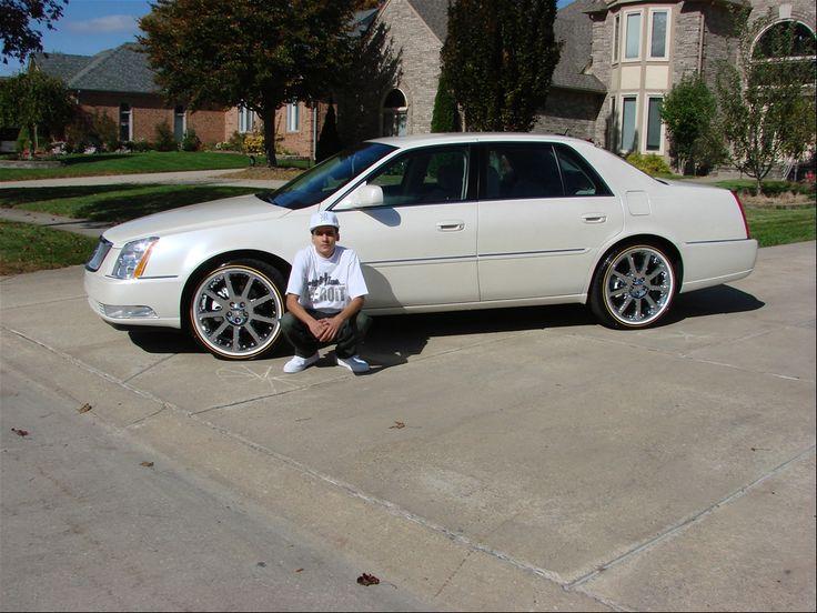 2008 Cadillac DTS On 22 Inch Rims | Cadillac | Cadillac ...