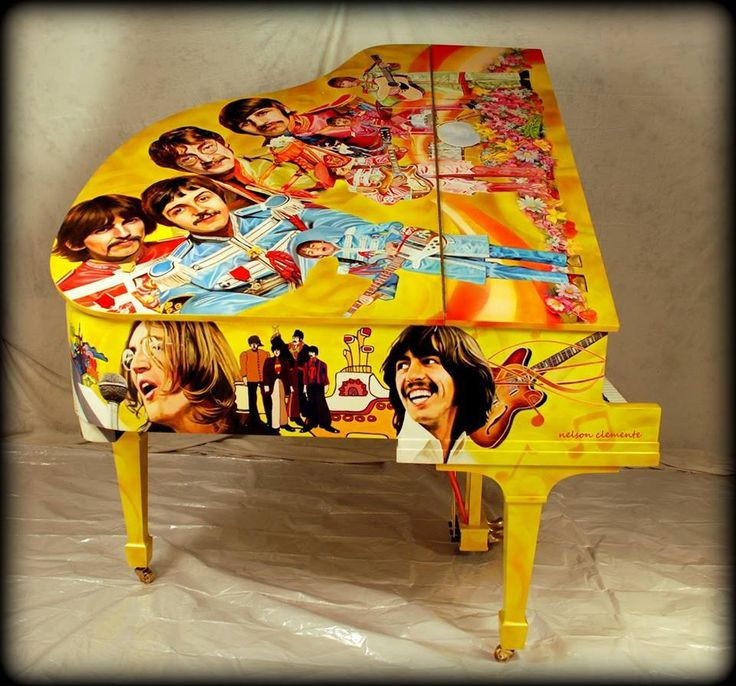 Beatles Baby Grand