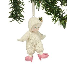 """Department 56: COLLECTING - """"My First Heels Ornament"""" - New Introductions Jan 2015"""