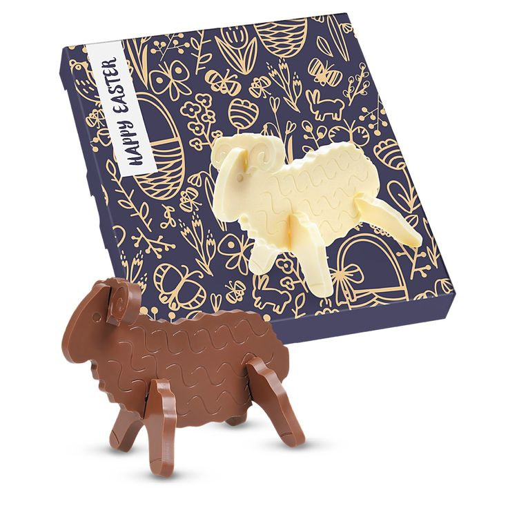 62 best easter promotional gifts images on pinterest bags promotional 3d easter lamb choco puzzles 0331d from redbows promotional easter negle Images