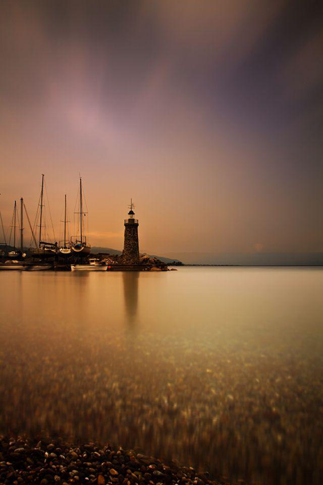 Lighthouse in Patra, Greece- by keethasangari_1989