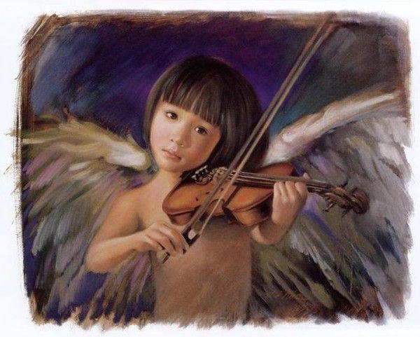 Nancy A. Noel art/ Music to sooth my runaway mind AHHHH...Thank you