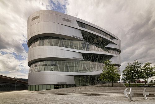 Mercedes-Benz Museum designed by UNStudio. Stuttgart.