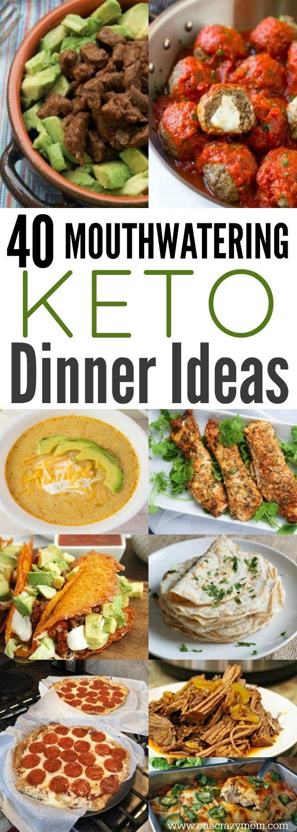 Easy Keto Dinner Ideas – 40 Easy Keto Dinner Recipes