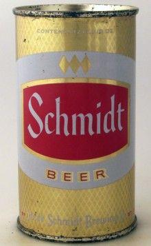 Schmidt Beer Can #beer #beerbaconmusic
