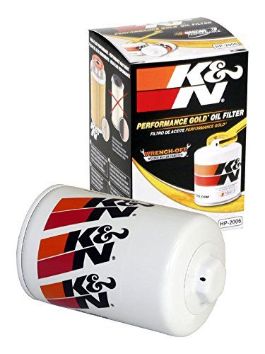 K&N HP-2006 Performance Wrench-Off Oil Filter - Originally developed for demanding auto race applications, our premium oil filter is rapidly becoming a favorite among consumers for its durability and easy removal. We've changed oil filters and several of our product development technicians are sportsman class drag racers. They insisted we offe...