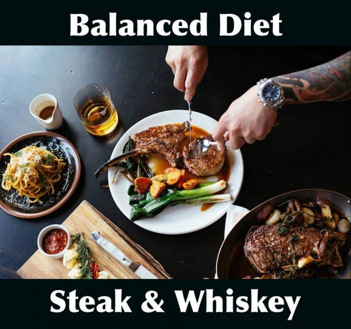 Balanced diet meme