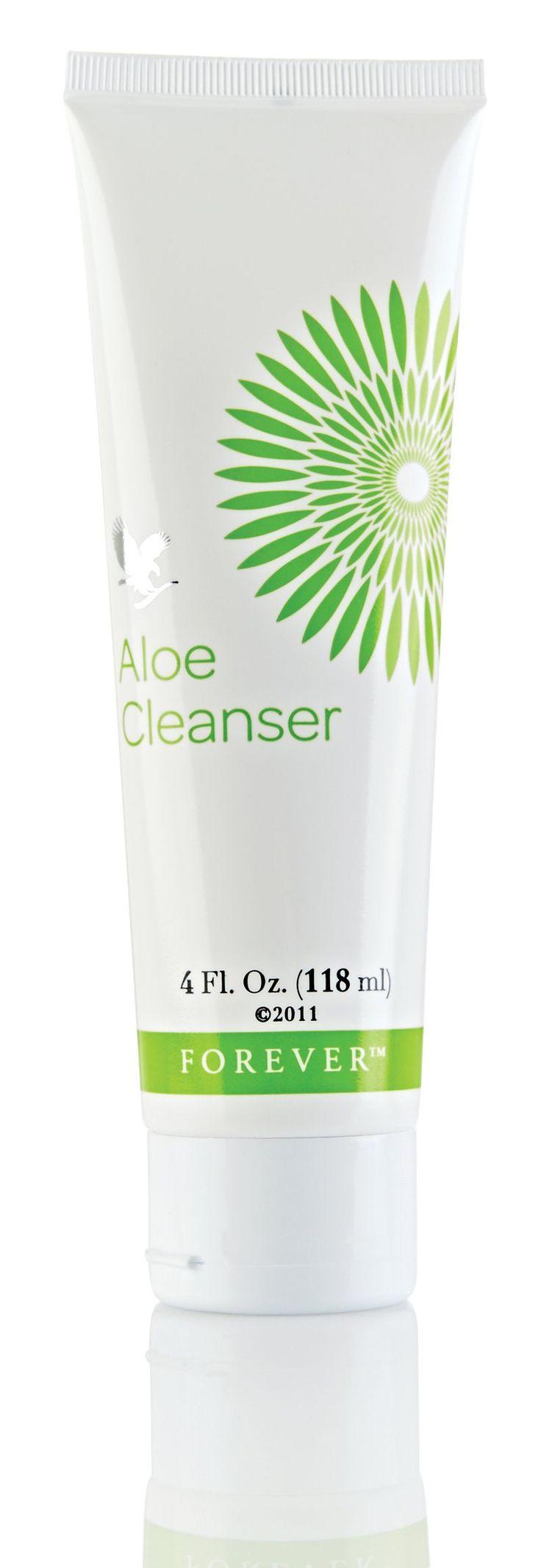 forever living aloe vera face wash