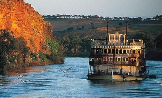 Paddle Steamer Cruise along the Murray River