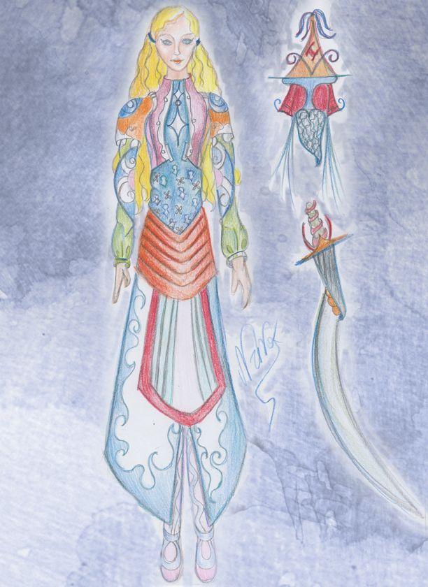 Female Warrior by marleniamar.deviantart.com on @deviantART