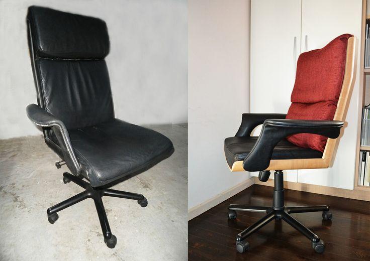 καρέκλα γραφείου ανακατασκευή