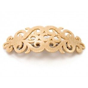 Add a touch of luxe to your look with this gold hairclip Creme Gold Elysee Hårspænde