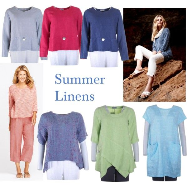Summer Linens by katiekerrshop on Polyvore