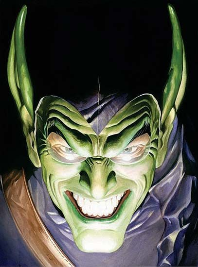 Green Goblin by Alex Ross http://31.media.tumblr.com/tumblr_linrycfQTq1qdw6bwo1_500.jpg