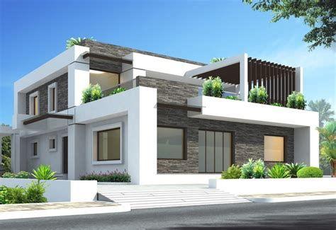 Contoh Desain Rumah 3d Dengan Tampilan Elegan Dan Modern ...