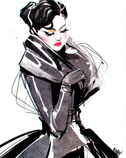 Pat Chiang #fashionillustration #artluxedesigns