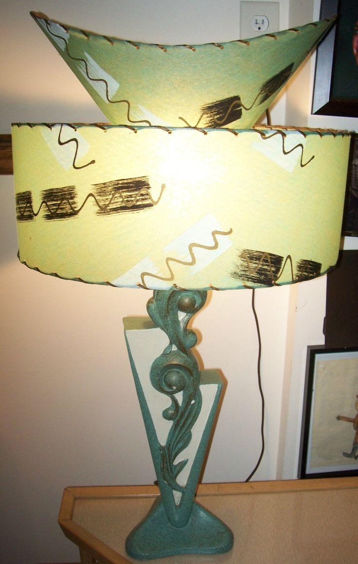 Vintage tisch vintage lampen flippige lampen moderne lampen meine lieblingsfarbe tischleuchten wasser mitte des jahrhunderts fahrbahn