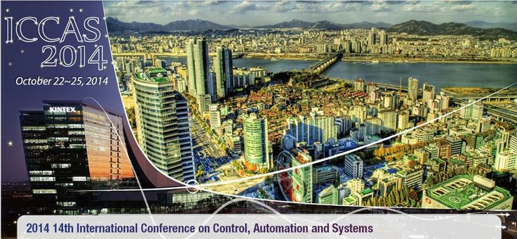 ICCAS 2014 will be held at KINTEX (near the downtown of Seoul), Korea on October 22-25, 2014 jointly with Robot World 2014. The aim of the ICCAS is to bring together researchers and engineers worldwide to present their latest works, and disseminate the state-of-the-art technologies related to control, automation, robotics, and systems.