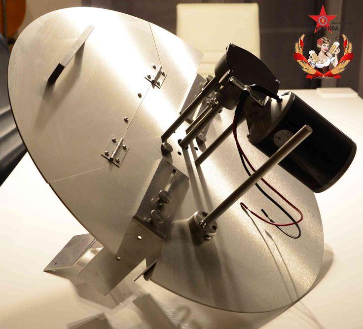 Multi-Pro Rührwerk für alle Kesselgrößen und sehr starker möglicher Motorisierung.
