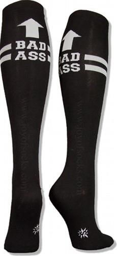 Bad Ass Running Socks/ or for my derby friends.