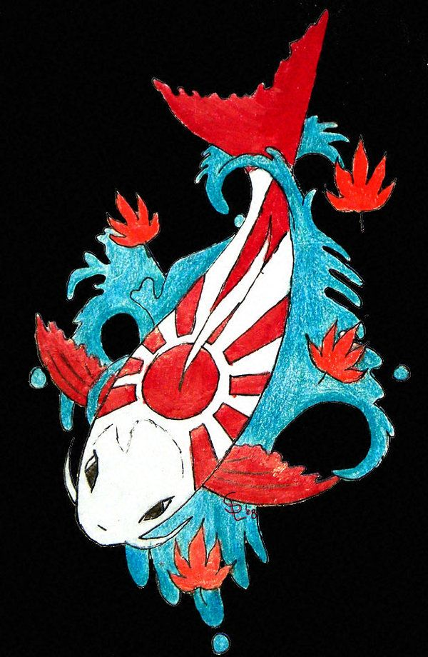 17 best images about art japan on pinterest japanese for Japanese fish flag