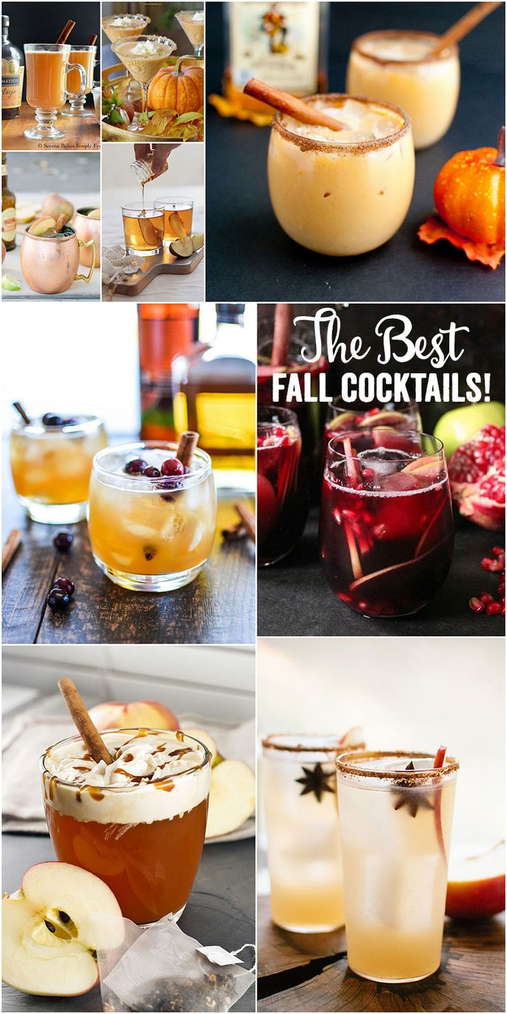 9 fall cocktails you need to try stat cocktail recipes for Fun fall drinks