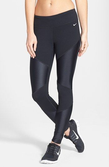 Nike 'Strut' Dri-FIT Tights: Workout Clothes | Fitness Apparel | Gym Clothes | Yoga Clothes | Shop @ FitnessApparelExpress.com