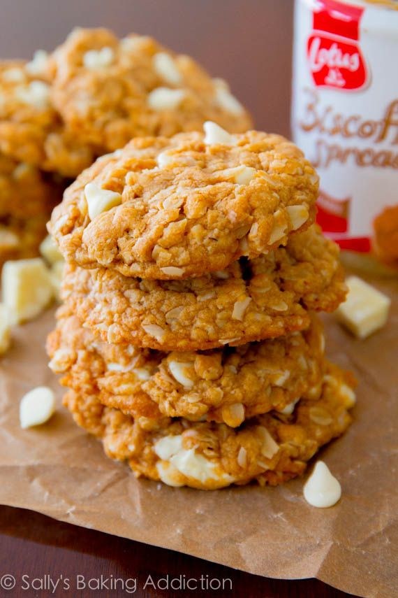 White Chocolate-Filled Biscoff Cookies Recipes — Dishmaps