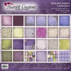 Delicate Asters Paper Collection - Hcdp1226