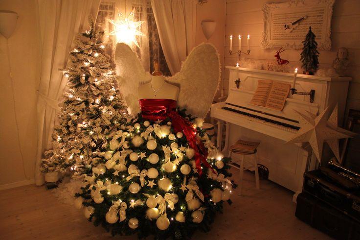 Christmas tree Lady dress
