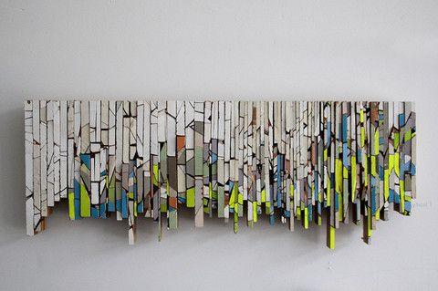 Sculpture: Vertical Alliterated Object I - Kara Burrowes