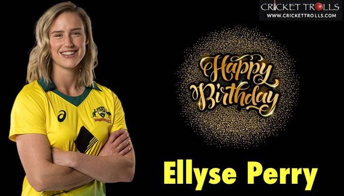 Happy Birthday to the number one all-rounder in Women's ODIs : Ellyse Perry - http://ift.tt/1ZZ3e4d