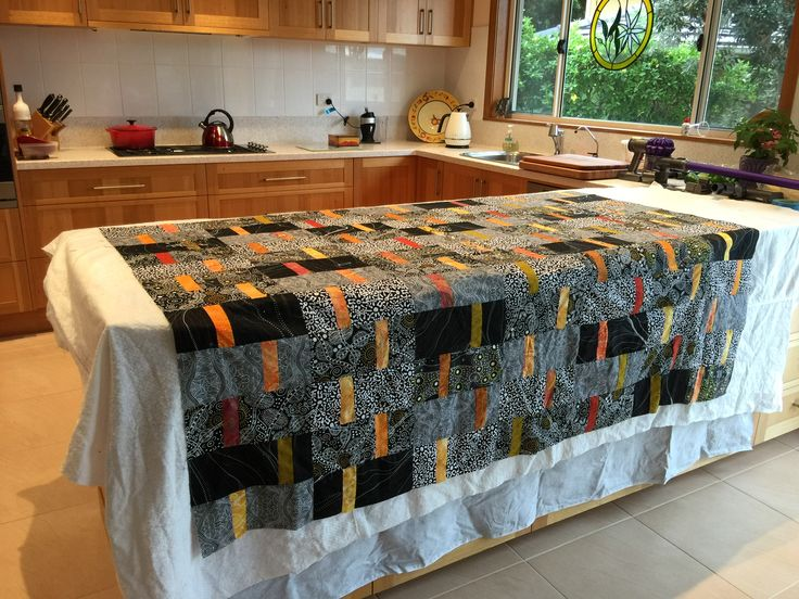 My lovely aboriginal quilt
