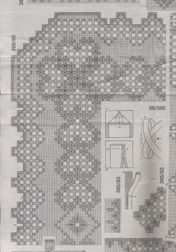 Hardanger pattern