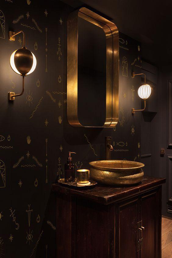 cool Dark Moody Bathroom Designs That Impress
