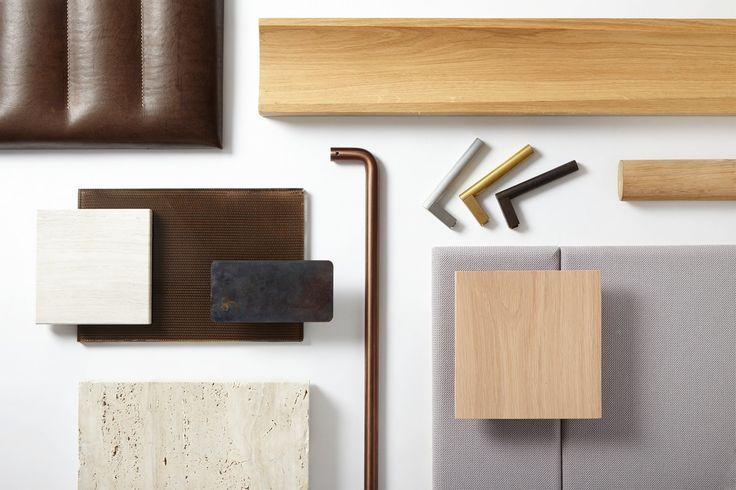 25 Savile Row materials board
