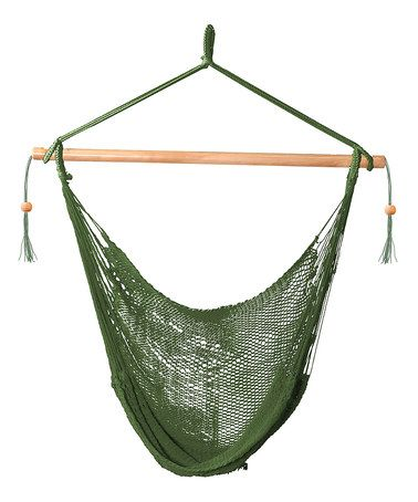 Another great find on #zulily! Green Island Hammock Chair #zulilyfinds
