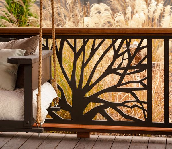 The Branches Unique Railing Panel For Your Porch and Deck | The Porch Store
