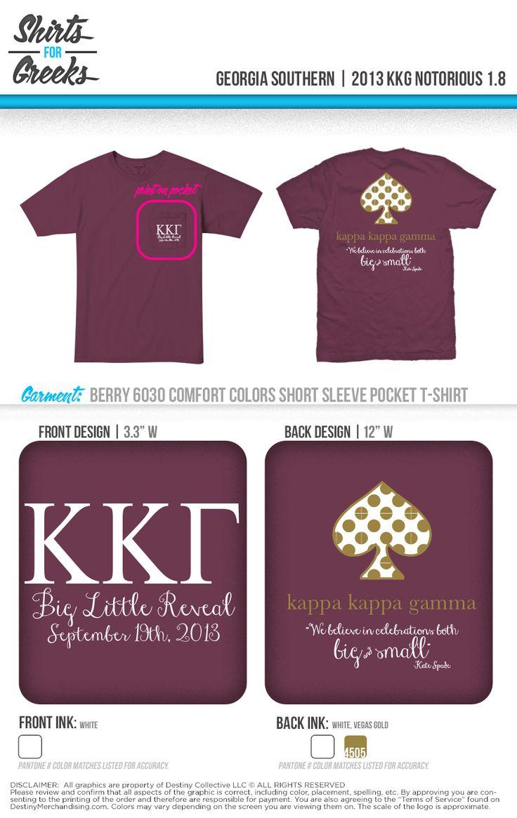 Kappa Kappa Gamma | KKG | Big Little Reveal | Big Sis Little Sis | shirtsforgreeks.com diamond sister