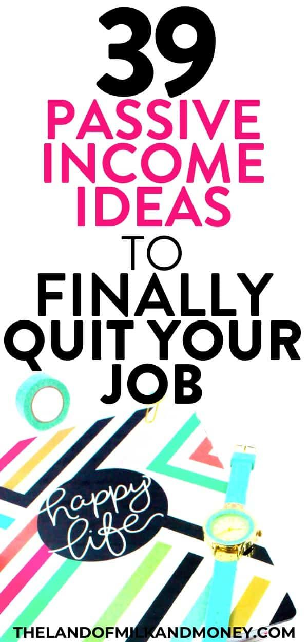 Passive Income Ideas: 39 Ways To Make Money While You Sleep In 2019 – Way to make money