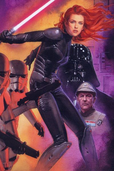 Mara Jade eventually abandoned the Empire to marry Luke Skywalker. Together, they foster Daphne's daughter Kee Skywalker.