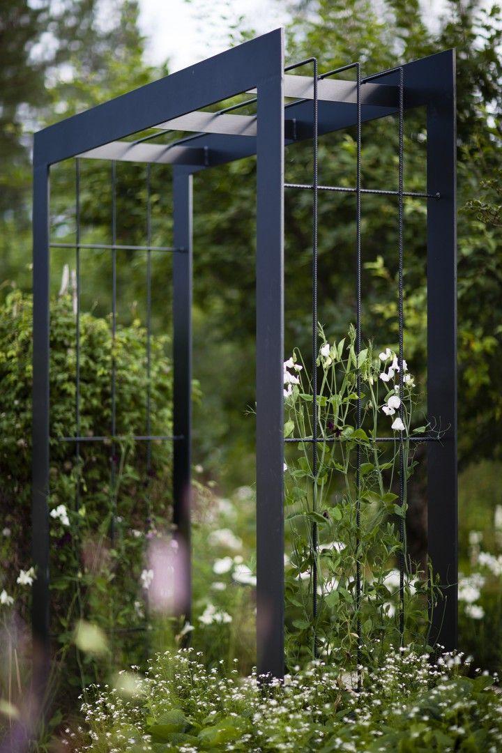 Nordfjell Collection Pergola Arch - Steel - Nola #moderngardens
